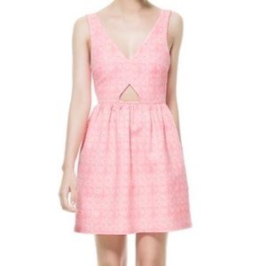 Zara Trafaluc Neon Pink Dress